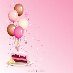 Pink balloons birthday