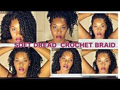 The Best Crochet Hair for Crochet Braids! - YouTube