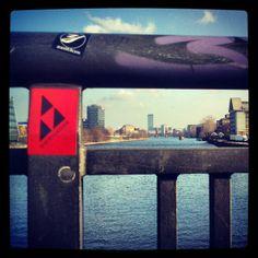 Picture taken on Schilling bridge