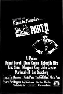 Godfather Part 2 BEST PICTURE 1974