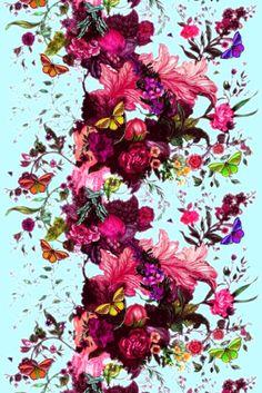 Timorous Beasties Fabric - Butterfly Blurr