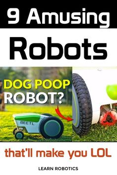 Funny robots that you can buy for everyday tasks. Must-read for the robot enthusiast!