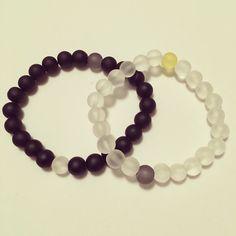 #zoecreations #unisex #bracelets #pulsera #black #negro #white #jewelry #pr