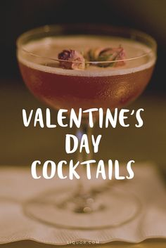 These #ValentinesDay #cocktails are perfect to set the mood this winter.