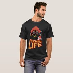 Fireman Firefighter Funny Life Skeleton Halloween T-Shirt  firefighter husband, diy firefighter costume, police and firefighter #firedepartment #firefightingislife #emt Dachshund Quotes, Dachshund Humor, Beau T-shirt, Wildland Firefighter, Scary Costumes, Right Meow, Proud Dad, Unisex, Shorts