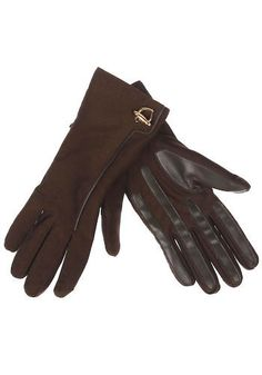 Vintage Duluth Gloves. Features: chocolate brown gloves, Thinsulate lining, gold heart charm accent at the wrist of each glove, leather at the palm for extra gripPeriod: circa 1980'sSize: size is not marked, please see Composition and FitCondition: excellentThis is a vintage One of a Kind item.  #modcloth