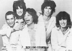 The Rolling Stones, Mick Jagger, Keith Richards, Charlie Watts, Bill Wyman, Ron Wood