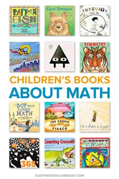 The Best Children's Books That Introduce Kids to Math Concepts Learning math concepts is more fun with picture books! Discover the best math books for kids — perfect for kindergarten and elementary school children. Math Literature, Math Books, Preschool Books, Kid Books, Books For Kids, Story Books, Best Children Books, Toddler Books, Childrens Books