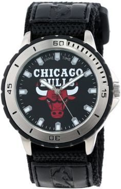 nice Game Time Men's NBA-VET-CHI Veteran Custom Chicago Bulls Veteran Series Watch  –