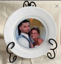 China plate with photo of your choice of picture.  Highfc in Brunswick - letgo