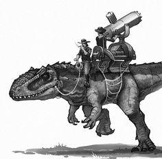 Giganotosaurus... the master weapon...