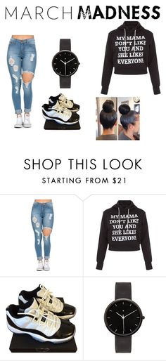 """""""March Madness"""" by bavone05 on Polyvore featuring NIKE, I Love Ugly, beoriginal, shoegame, SimplyCute and cuteandonpoint"""