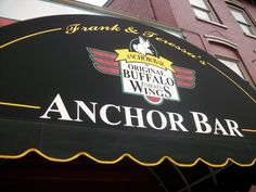 Home of the ORIGINAL wings! My husband & I had our first date there