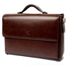 Enhance the style and substance of your next luggage/bagpurchase with this versatile Modern Vintage Briefcase. Imported from the UK, this 100% Genuine handmade