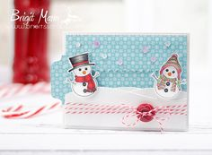 "Brigit's Scraps ""Where Scraps Become Treasures"": Snowbuddies Are The Best - My Creative Time Trending Now PeekABoo Card"
