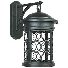 "Ellington 16 1/4""H Oil-Rubbed Bronze Outdoor Wall Light - #75333   Lamps Plus"