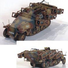 Tamiya's Sd.Kfz 251 Stuka Zu Fuss By: Jeff From: network54 #soldier #soldados #stuka #tamiya #scalemodel #plastimodelismo #war #guerra #guerre #bataille #modelismo #plasticmodel #plastimodelo #plastickits #usinadoskits #udk #miniatura #miniature #maqueta #maquette #modelismo #modelism #modelisme #diorama #dio