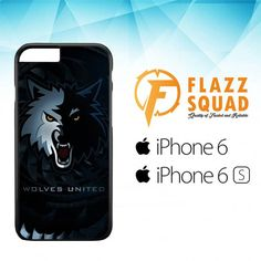 Wolves United Z4159 iPhone 6|6S Case