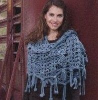 French blog full of free crochet patterns for shawls, wraps, and other items - requires translation, many languages