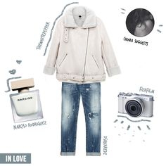 Blank coffeebeans by @chiaragallitto - COFFEEDENTIAL http://www.coffeedential.co/insides/get-blank-look/ #white #look #outfit