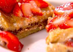 Chocolate and Strawberry Stuffed French Toast from FoodNetwork.com