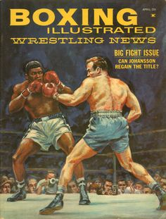 BOXING ILLUSTRATED APRIL, 1961