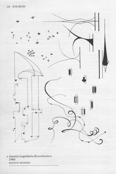 As somebody with one foot in the visual art world and the other in sound world, I have always been interested in the experimental music notation strategies. Aside from the fact that these are often beautiful artifacts, I… Lawrence Halprin, Graphic Score, Experimental Music, Music Score, Music And Movement, Partition, Henri Matisse, Art World, Signs