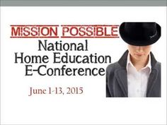Ticket options for online homeschool conference at HECOA - YouTube