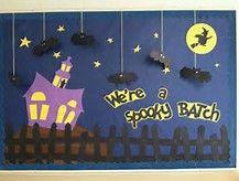 Image result for halloween bulletin boards for preschool