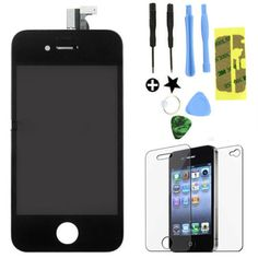 Replacement LCD Touch Screen Digitizer Glass Assembly OEM for iPhone 4 AT&T GSM. Deal Price: $23.75. List Price: $37.99. Visit http://dealtodeals.com/apple-deals/replacement-lcd-touch-screen-digitizer-glass-assembly-oem-iphone-gsm/d7996/cell-phones-smartphones/c52/
