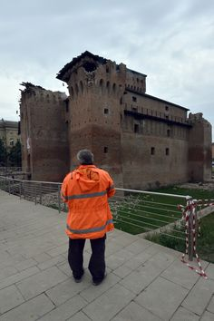 Photo of Castle in San Felice Sul Panaro #Italy damaged by 20 May 2012 #earthquake