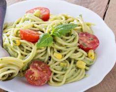 Spaghettis à l'avocat : http://www.fourchette-et-bikini.fr/recettes/recettes-minceur/spaghettis-lavocat.html