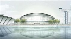 The Scottish Hydro Arena is being built alongside the existing SECC and the Clyde Armadillo in Glasgow