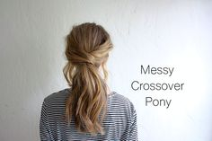 I always like the idea of wearing my hair up, but I hate feeling like whatever style I throw it into will fall out at the slightest turn of my head. I like my hairstyles to feel secure, and most updos call for a zillion bobby pins, which tend to slip and slide after an hour or two in my hair