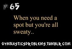 These moments.are soo awkward! Gymnastics Tricks, Gymnastics Workout, Sport Gymnastics, Olympic Gymnastics, Gymnastics Facts, Gymnastics Stuff, Funny Gymnastics Quotes, Inspirational Gymnastics Quotes, Gymnastics Pictures
