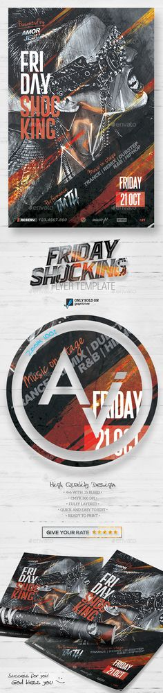 Friday Shocking Flyer Template V2