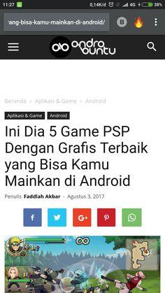 Ini dia 5 game PSP dengan grafik terbaik yang bisa kamu mainkan di android. Baca selengkapnya di androbuntu.com