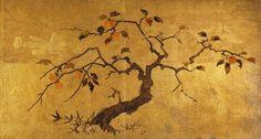 Japanese Painting Antique Bozzetto for Folding Screen Byobu C 1900 Late Meiji | eBay