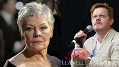 26 July Hollywood comes to Llanstephan Eddie Izzard, James D'arcy, Finishing School, Judi Dench, Thriller, Daughter, Hollywood, Film, Movies