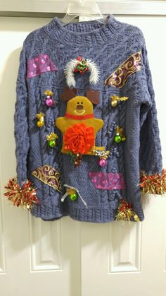 It's UGLY Christmas sweater season. We've added unique, handcrafted sweaters to our inventory. Check us out!  http://stores.ebay.com/LYLACS-4U?_rdc=1