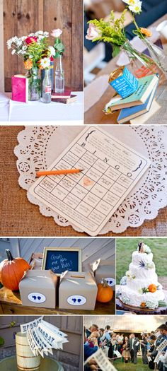 "Goodies for guests: ""Who Know Who"" Bingo, activity packs for young attendees & 'Hooray' flags to wave after the ceremony. Fall Wedding, Diy Wedding, Wedding Favors, Wedding Decorations, Wedding Ideas, Wedding Bingo, Wedding Wishes, Reception Games, Reception Party"