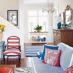 If I had a beach house...Brabourne Farm: Love .... (More) Stripes