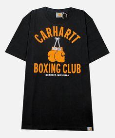 Carhartt Box Club T-Shirt in Asphalt