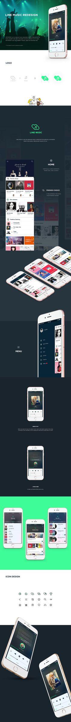 Line Music App