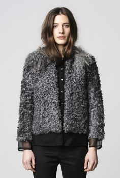 JACKET ELVY SHEEP FUR  in the group All items / Jackets at Rodebjer Form AB (1110014_960_Lr)