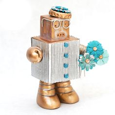 Custom Grandma Daisy Bot by Shayne Maratea