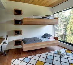 Sejam camas flutuantes, para duas ou mais pessoas, ou com design inovador, elas dão um ambiente diferente ao quarto (Imagem: Divulgação)