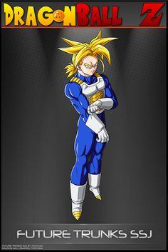 Dragon Ball Z - Trunks SSJ-SA by DBCProject