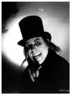 """Lon Chaney, from lost film """"London After Midnight"""". Sci Fi Horror Movies, Classic Horror Movies, Scary Movies, Horror Art, Creepy Horror, London After Midnight, Sunset Boulevard, Lon Chaney, Horror Monsters"""