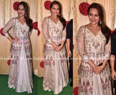 Sonakshi in Varun Bahl, Jimmy choo clutch, Celebrity fashion, Indian Style, celebrity style, Fashion, Indian Celebrity Fashion, Indian Fashion, Indian Celebrities, Indian Designer